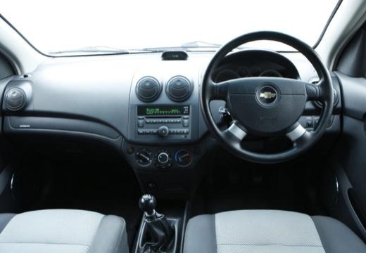 CHEVROLET Aveo hatchback czarny tablica rozdzielcza