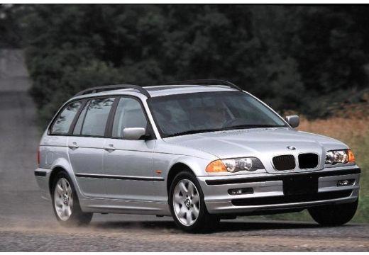 BMW Seria 3 Touring E46 kombi silver grey przedni prawy
