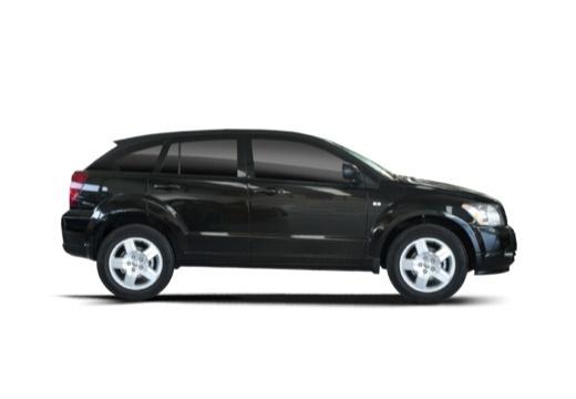 DODGE Caliber II hatchback czarny boczny prawy