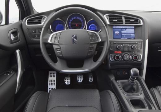 CITROEN DS4 I hatchback szary ciemny tablica rozdzielcza
