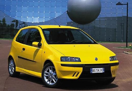 FIAT Punto II I hatchback żółty przedni prawy