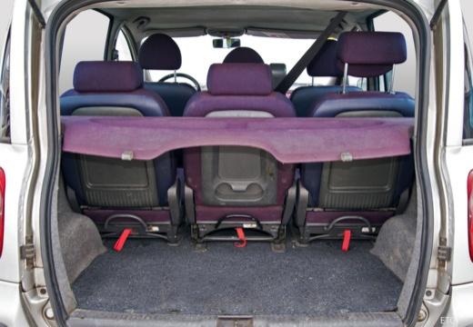 FIAT Multipla I kombi przestrzeń załadunkowa