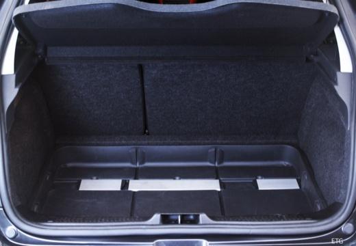RENAULT Clio III I hatchback przestrzeń załadunkowa