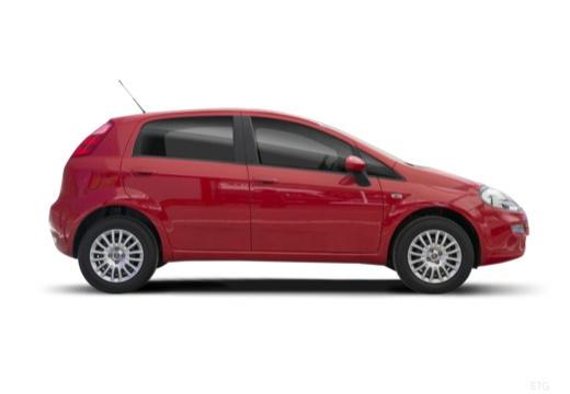 FIAT Punto II hatchback czerwony jasny boczny prawy