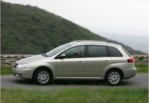 FIAT Croma II kombi silver grey boczny lewy