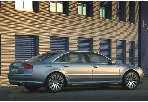 AUDI A8 4E I sedan silver grey przedni prawy