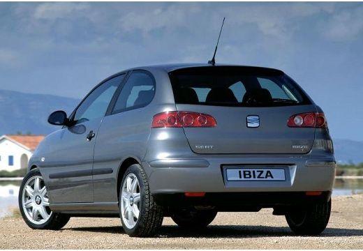 SEAT Ibiza IV hatchback szary ciemny tylny lewy