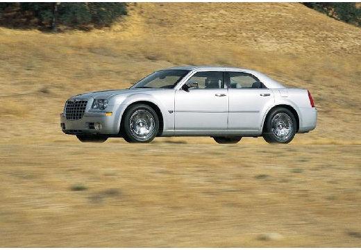 CHRYSLER 300 C sedan silver grey przedni lewy