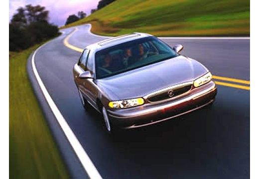 BUICK Century sedan silver grey przedni prawy