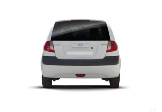 HYUNDAI Getz II hatchback tylny