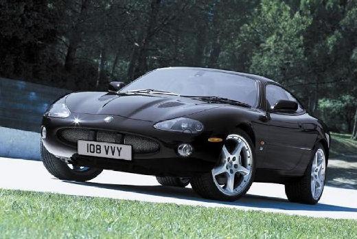 JAGUAR XK8 XKR coupe czarny przedni lewy