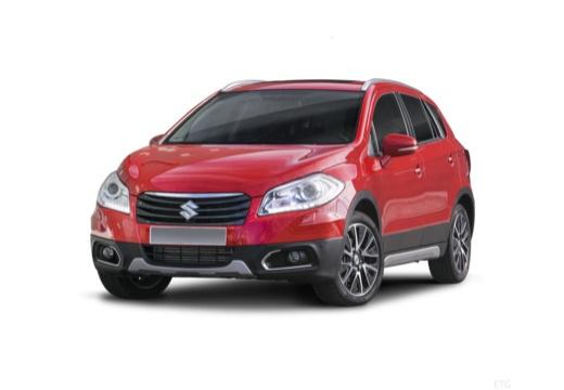 SUZUKI SX4 S-cross I hatchback czerwony jasny przedni lewy