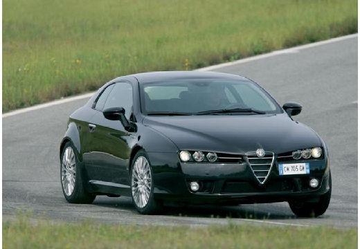 ALFA ROMEO Brera I coupe czarny przedni prawy