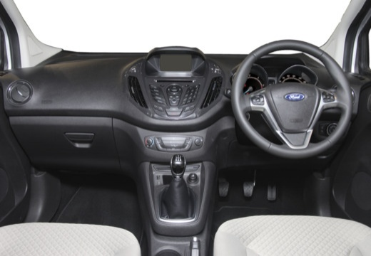 FORD Tourneo Courier I kombi silver grey tablica rozdzielcza