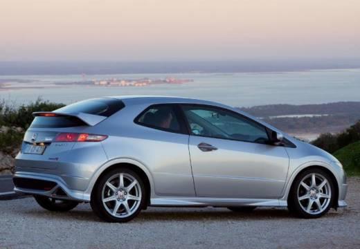 HONDA Civic VI hatchback silver grey tylny prawy