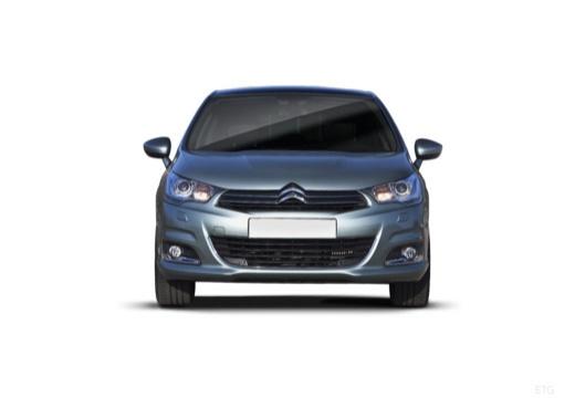 CITROEN C4 III hatchback silver grey przedni