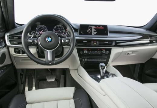 BMW X6 X 6 F16 hatchback szary ciemny tablica rozdzielcza