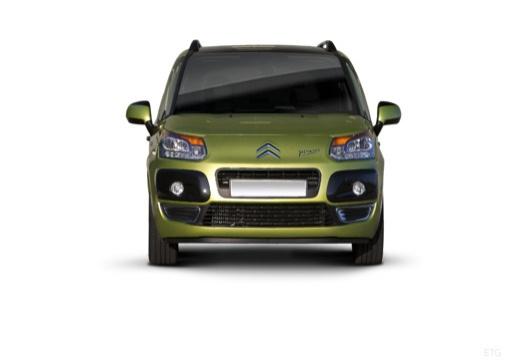 CITROEN C3 Picasso I hatchback zielony przedni