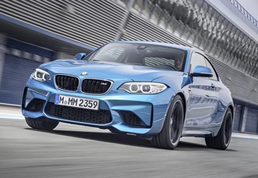 BMW Seria 2 F22 I coupe niebieski jasny przedni lewy