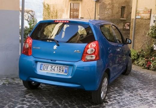 SUZUKI Alto hatchback niebieski jasny tylny prawy