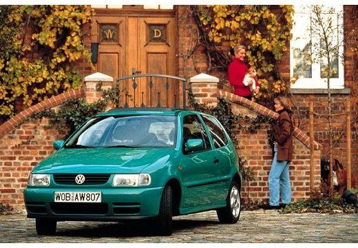 VOLKSWAGEN Polo hatchback zielony jasny przedni lewy