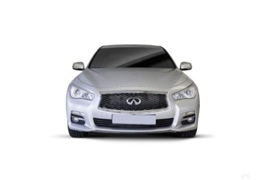 INFINITI Q50 I sedan biały przedni