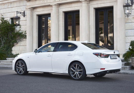 LEXUS GS V sedan biały tylny lewy