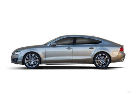 AUDI A7 hatchback boczny lewy