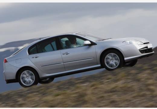 RENAULT Laguna III I hatchback silver grey boczny prawy