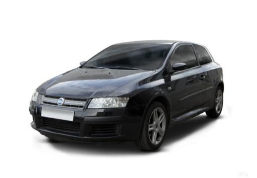 FIAT Stilo II hatchback czarny przedni lewy
