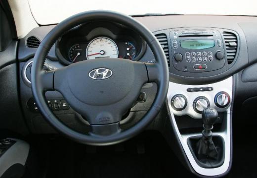 HYUNDAI i10 I hatchback tablica rozdzielcza