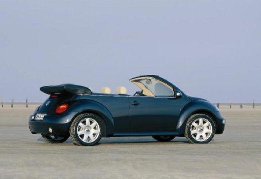VOLKSWAGEN New Beetle kabriolet niebieski jasny tylny prawy