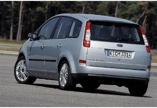 FORD C-MAX Focus kombi mpv silver grey tylny lewy