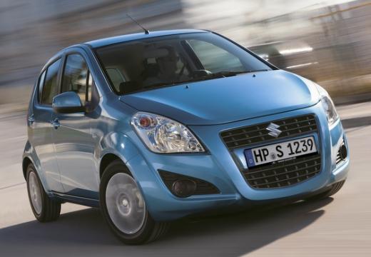 SUZUKI Splash II hatchback niebieski jasny przedni prawy
