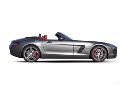 MERCEDES-BENZ SLS roadster boczny prawy