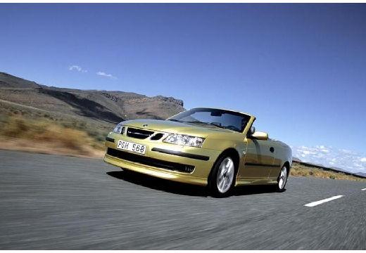 SAAB 9-3 Cabriolet II kabriolet złoty przedni lewy