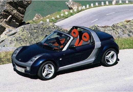 SMART Roadster I roadster czarny przedni lewy