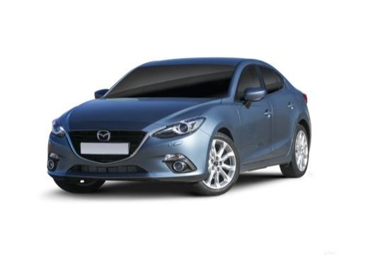 MAZDA 3 V sedan niebieski jasny przedni lewy