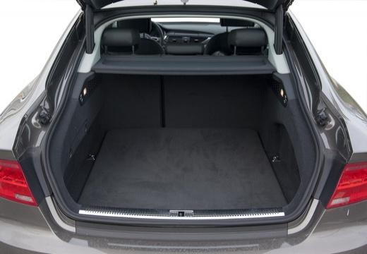 AUDI A7 Sportback II hatchback przestrzeń załadunkowa