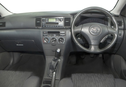 Toyota Corolla VI hatchback silver grey tablica rozdzielcza