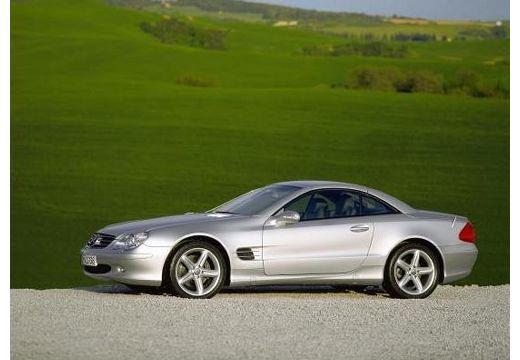 MERCEDES-BENZ Klasa SL SL 230 I roadster silver grey boczny lewy