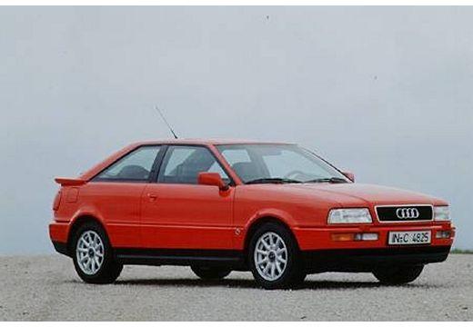 AUDI 80 coupe czerwony jasny przedni prawy