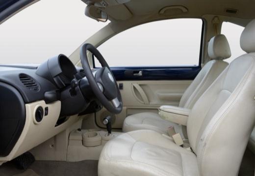 VOLKSWAGEN New Beetle I coupe niebieski jasny wnętrze