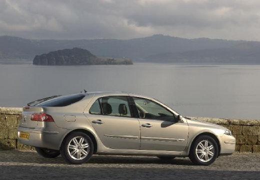 RENAULT Laguna II II hatchback silver grey tylny prawy