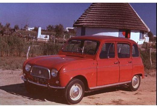 RENAULT R4 hatchback czerwony jasny przedni lewy