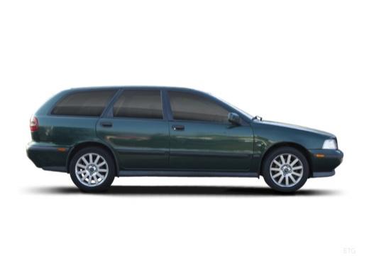 VOLVO V40 III kombi zielony boczny prawy