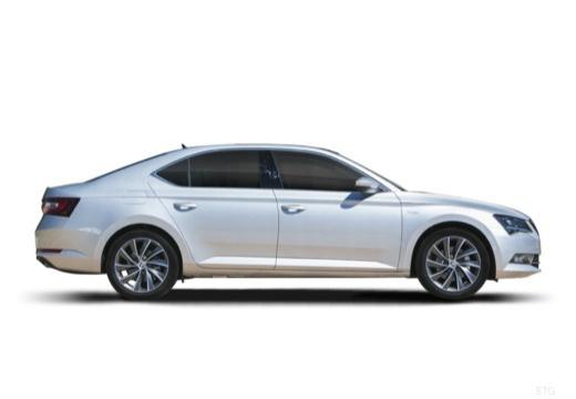 SKODA Superb III I hatchback boczny prawy