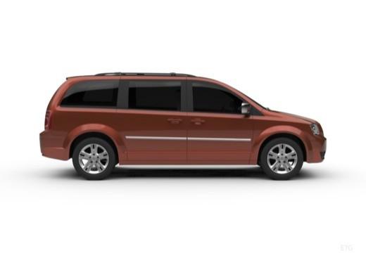 DODGE Grand Cara Van IV van boczny prawy