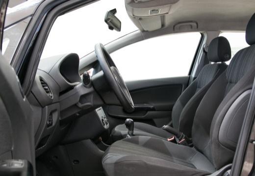 OPEL Corsa D I hatchback czarny wnętrze