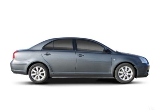 Toyota Avensis III sedan boczny prawy